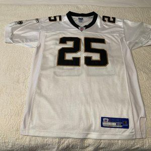 NFL Saints Embroidered Bush Jersey